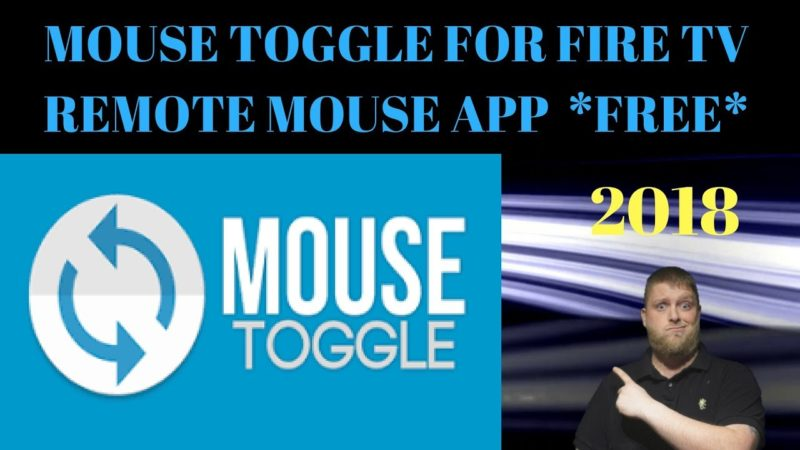 *2018*  Free Remote Mouse App On Firestick ..  Mouse Toggle For Fire Tv ..    3 Different Ways