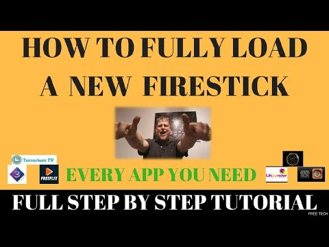 How To Fully Load A Firestick With Everything You Need !!!   (Jailbreak Tutorial)