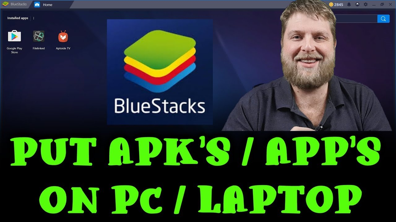 How To Put Apk's / App's Onto A Pc / Laptop