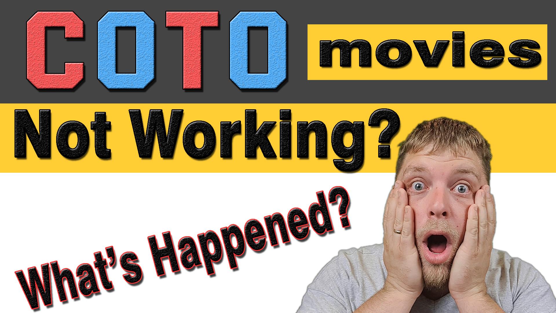 coto movies won't open