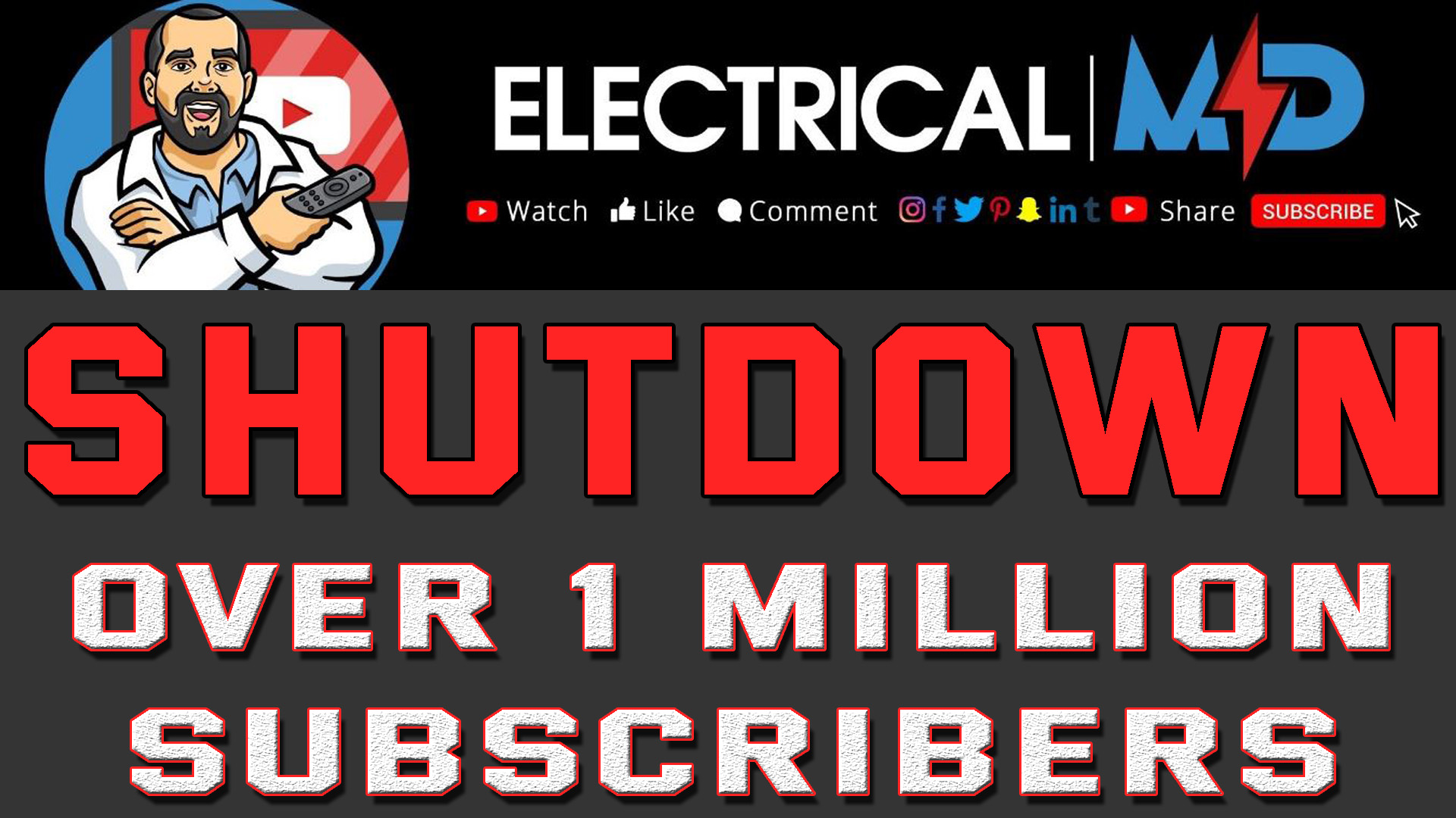 Electrical MD YouTube Shutdown