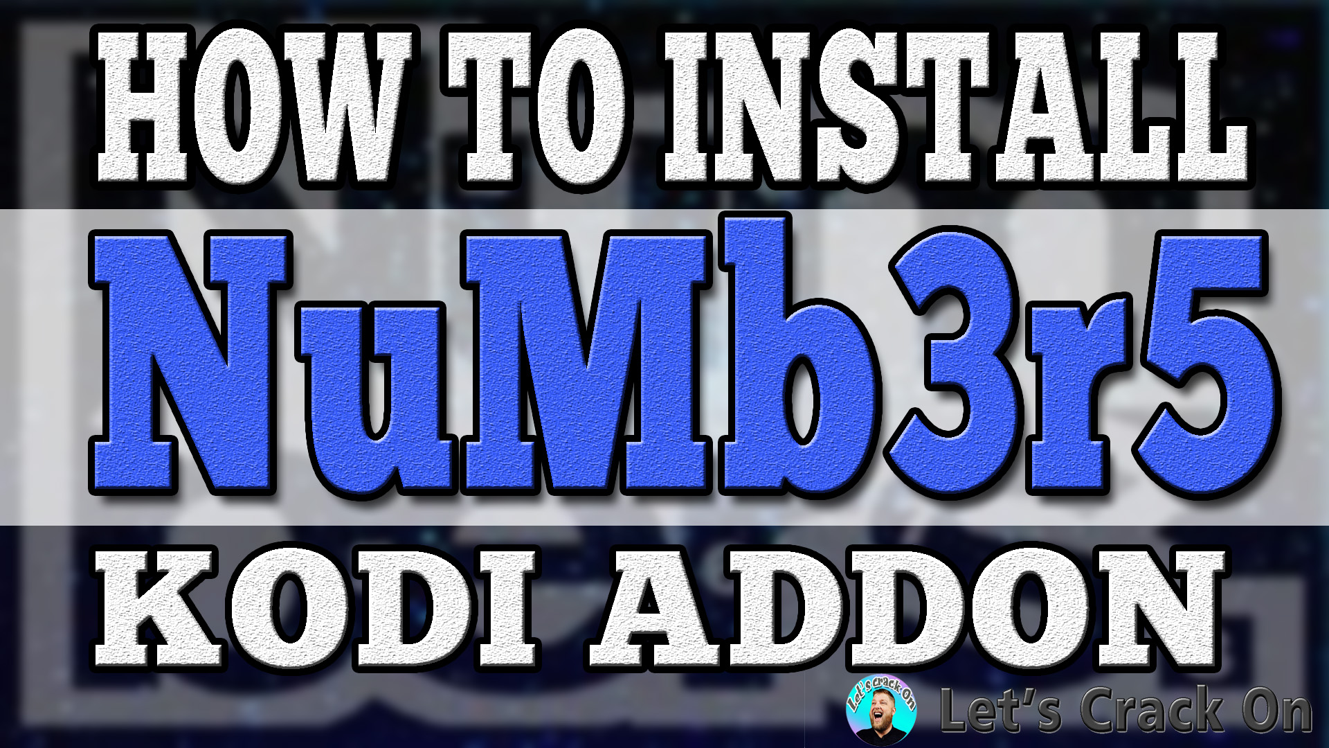 Install Numbers Kodi Addon