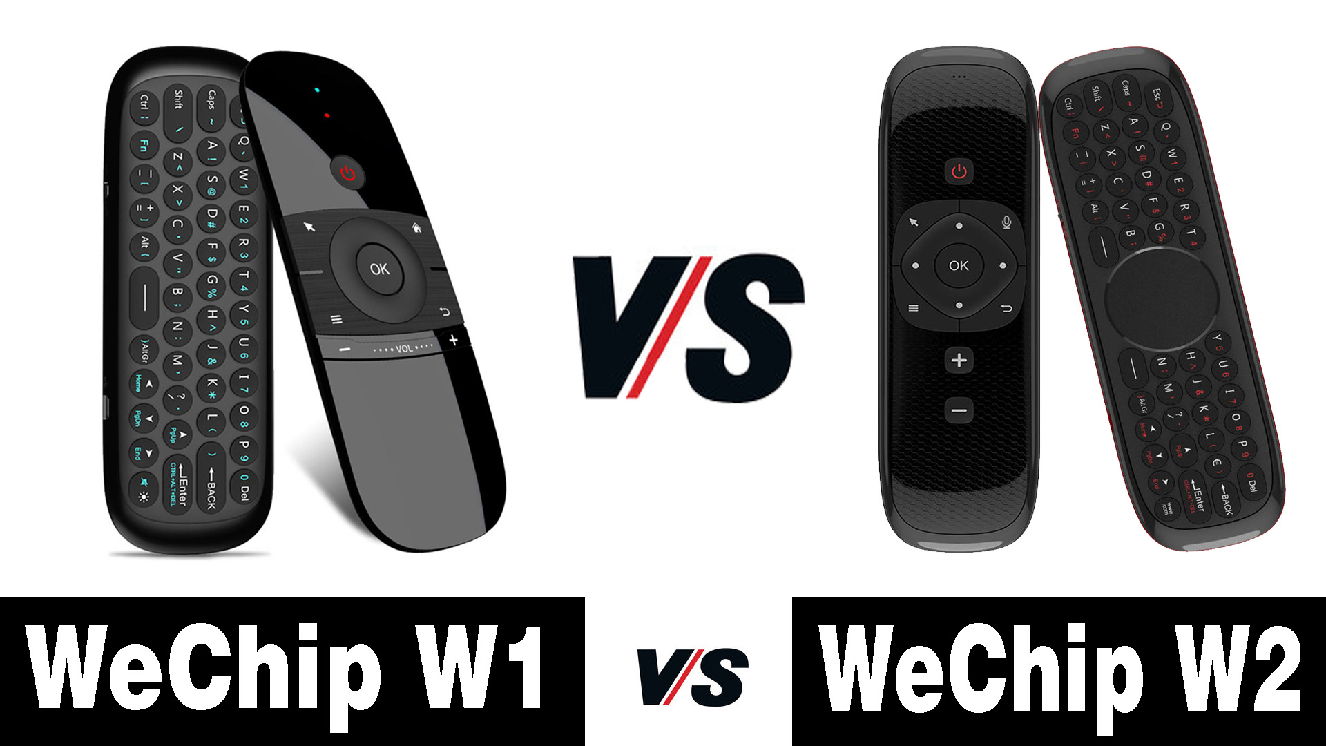 WeChip W2 Air Mouse