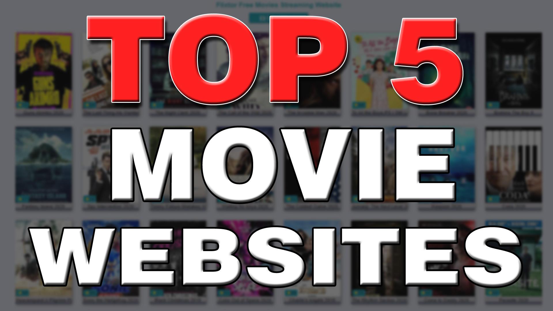 Top 5 movie websites