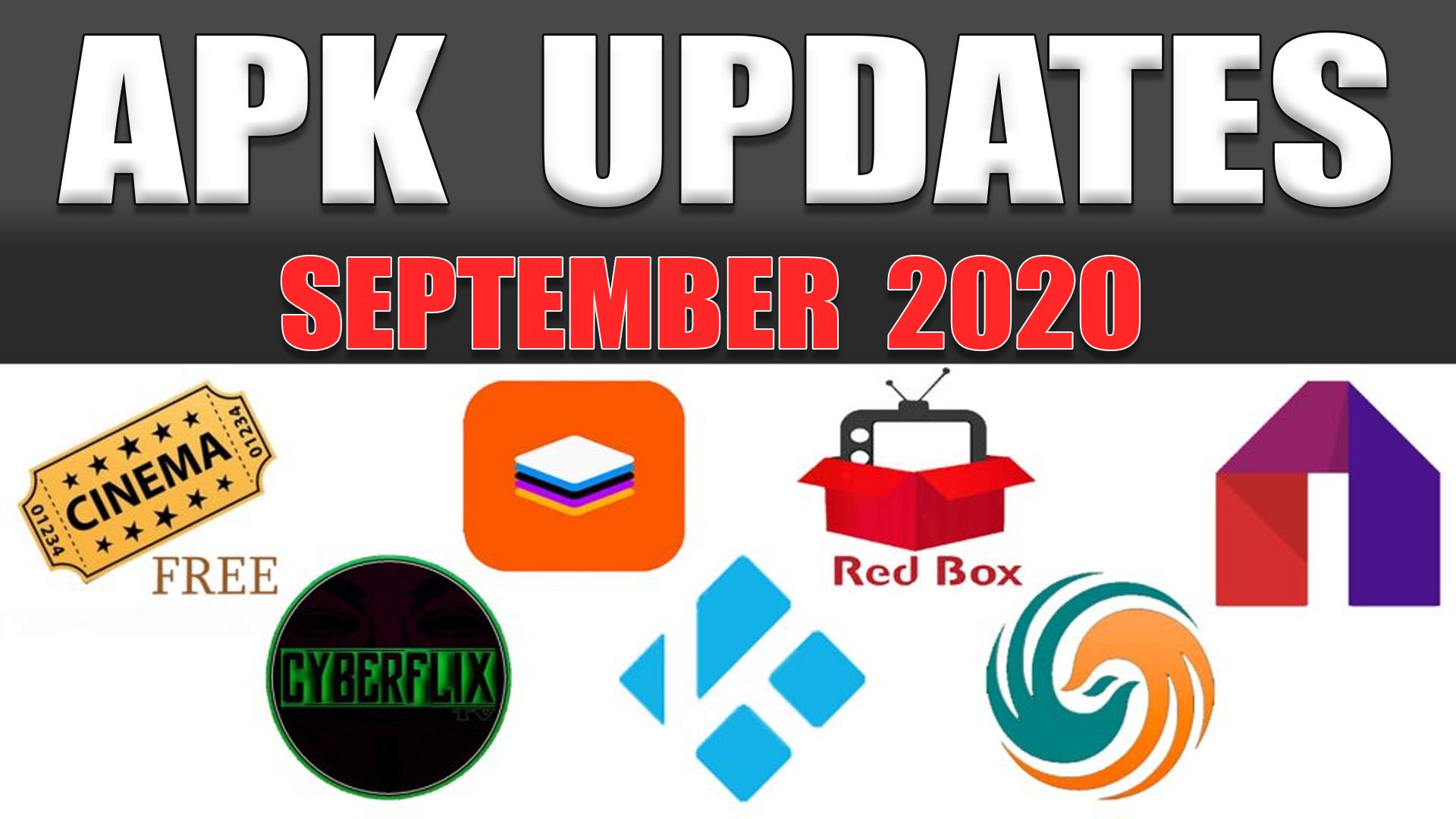 APK Updates September 2020