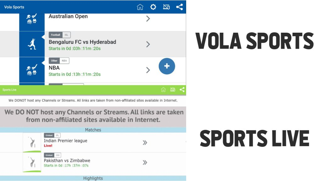 Vola Sports Closed Down And Changes Name