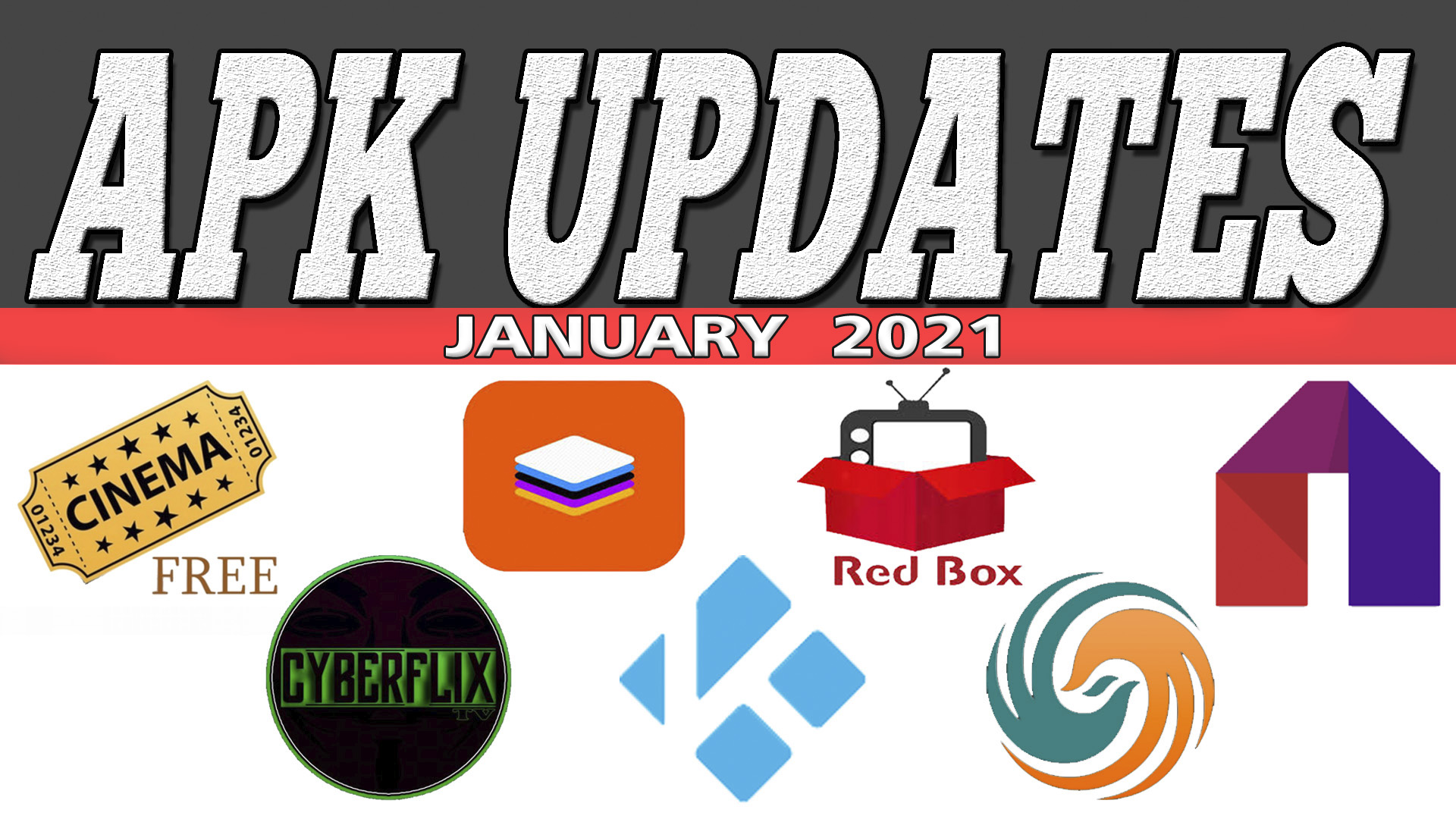 APK UPDATES JANUARY 2021