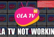 Ola TV Not Working