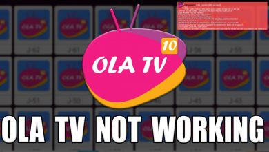 Ola TV Not Working