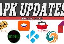 APK Updates March 2021