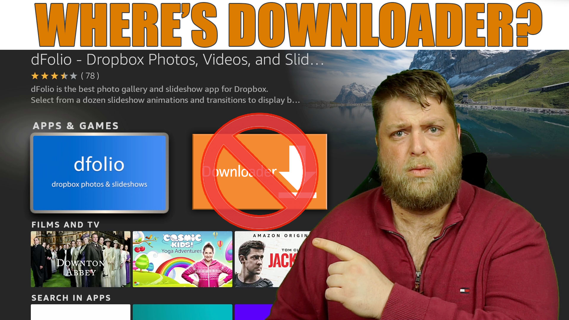 Downloader Removed From Amazon App Store