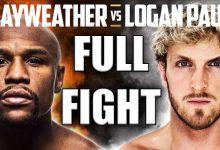 Floyd Mayweather v Logan Paul replay