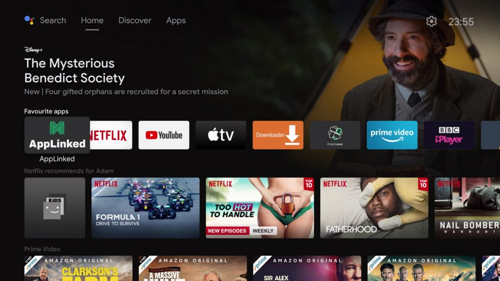AppLinked on Android TV
