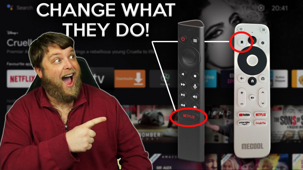 Remap Buttons On Android TV Remote