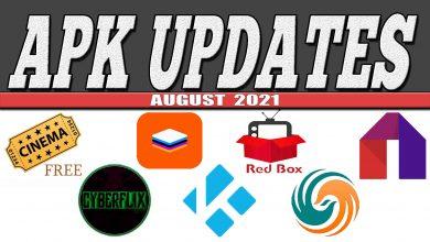 APK Updates August 2021