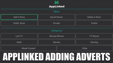 Applinked adding adverts