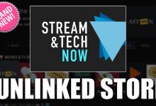 Stream and Tech Now Unlinked Store